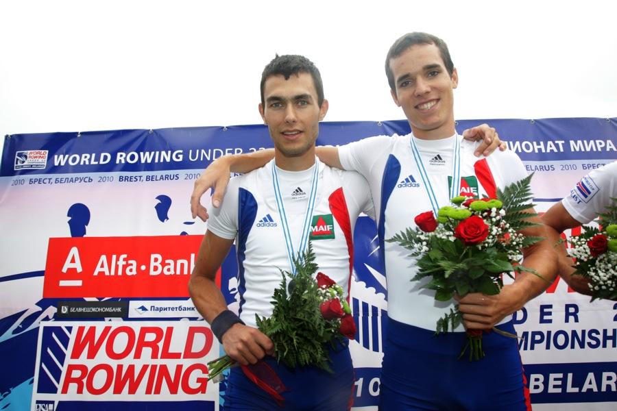 Aviron Mondial -23ans. Deux Grenoblois médaillés