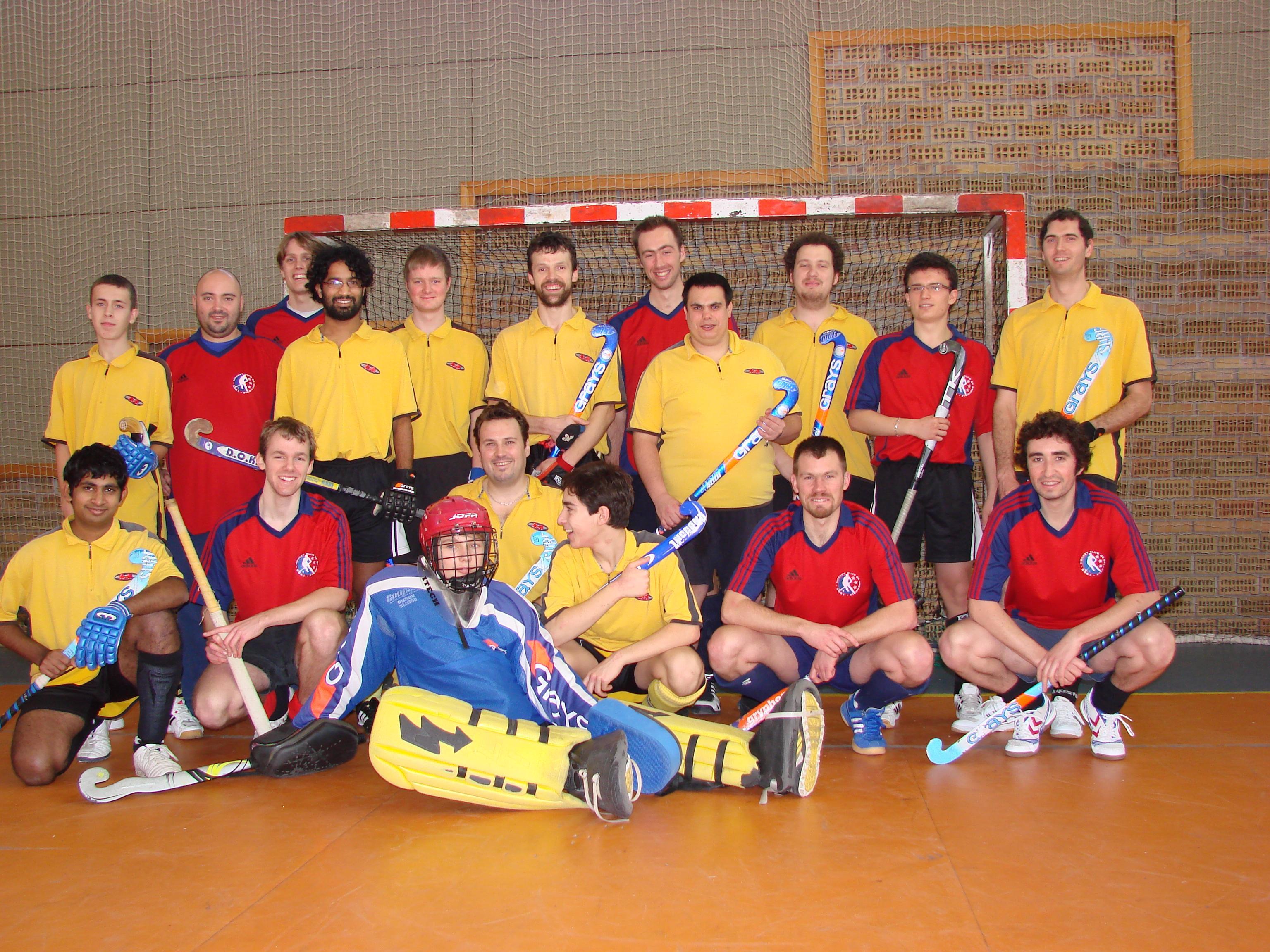Hockey en Salle Le HCG 1 victorieux