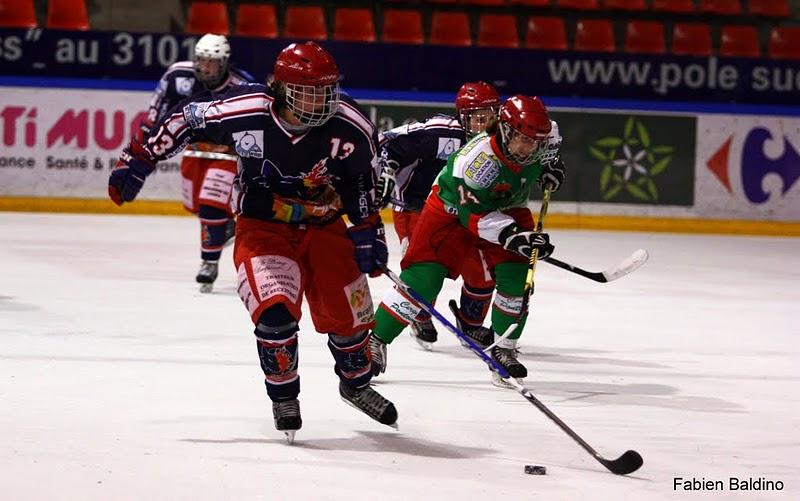 Hockey-sur-glace : les Grenobloises en finale (24/04/2011)