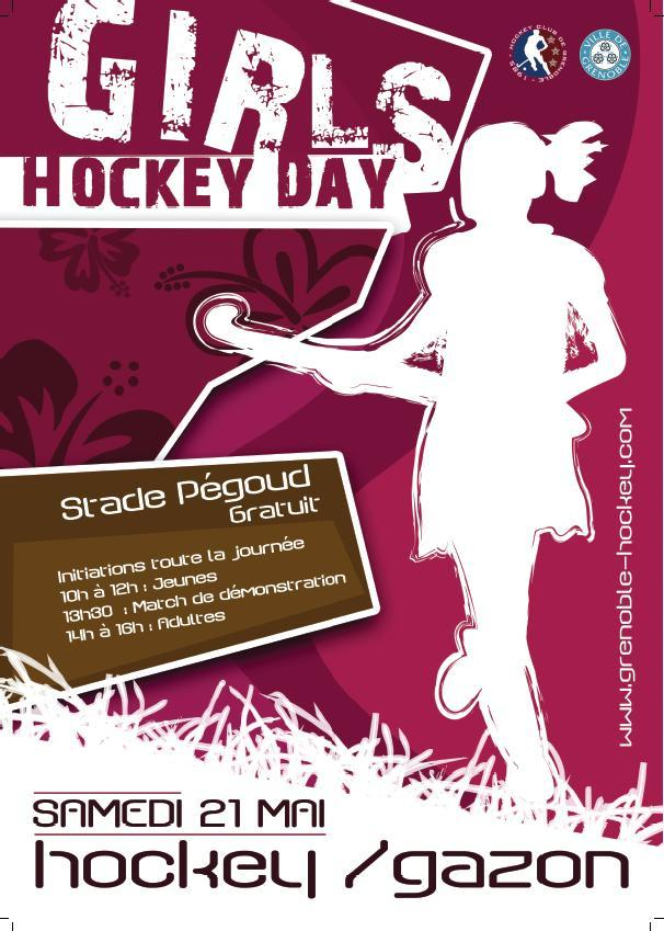 Hockey-sur-gazon : le HCG organise le Girls Hockey Day