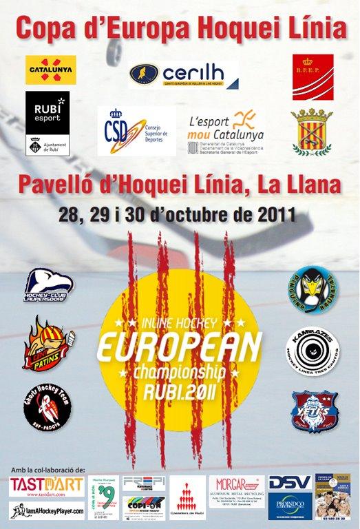 Roller-hockey : week-end européen pour les Yéti's