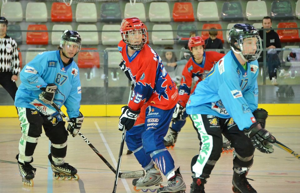 Roller-hockey : belle prestation des Yeti's en Coupe d'Europe
