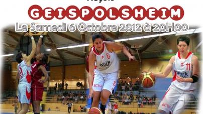 Basket – NF1 : présentation de BCTM – CSJ Geispolsheim
