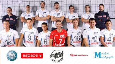 Volley-ball N1M : CNVB – Grenoble 0-3