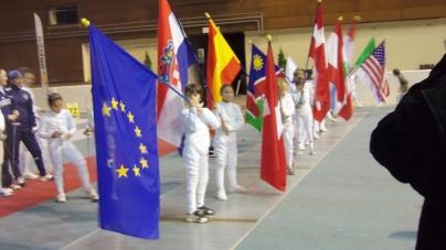 Challenge Européen Épée Cadettes : le joli coup de Sirico