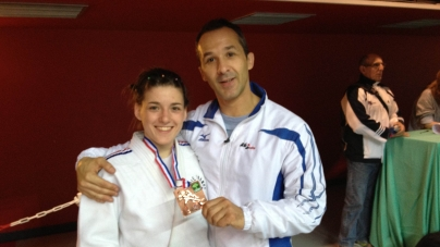 Judo – France Juniors : le bronze pour Justine Vincent
