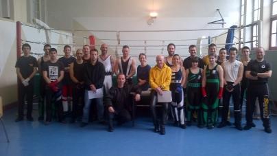 Savate boxe française – Résultats Examen Gant jaune