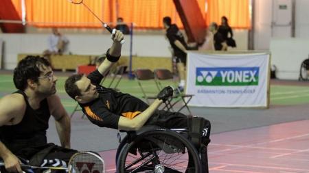 Photos de la 2ème journée du tournoi du GUC Badminton