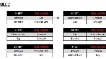 Hockey : le calendrier de la Coupe de la Ligue