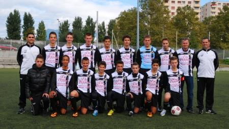 Mathieu Cianci (coach U15 FC Seyssins) : «Ils sont épatants»