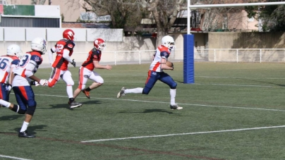 Foot US – D2 : Warriors Avignon – Centaures Grenoble 0-63