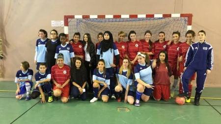 Les filles de Picasso s'imposent face au Futsal des Géants