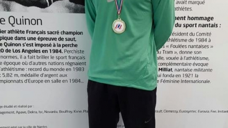 Mathieu Collet (perche) 7ème des championnats de France Elite
