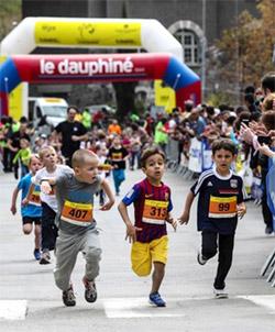 Grenoble – Vizille : des infos sur les courses enfants