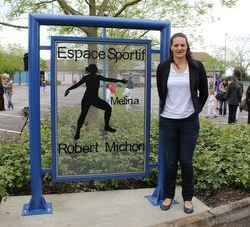 Mélina Robert-Michon, marraine de La Renversante 2