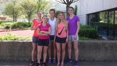 «Bon esprit d'équipe» chez les filles du GUC Tennis (2)