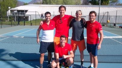 L'équipe 4 du GUC Tennis en route vers son objectif : le titre et la montée