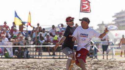 Des Monkey en bleu aux Championnats du Monde sur sable