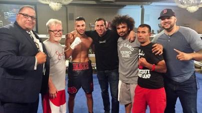 #Boxe – Une nouvelle victoire pour Jaber Zayani aux USA