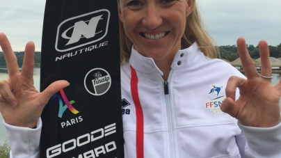 Ski nautique : 3 nouvelles médailles européennes pour Clémentine Lucine