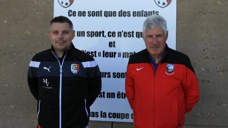 Antony Fricou et Jean-François Ricaldo nous présente l'école de foot de l'US Gières