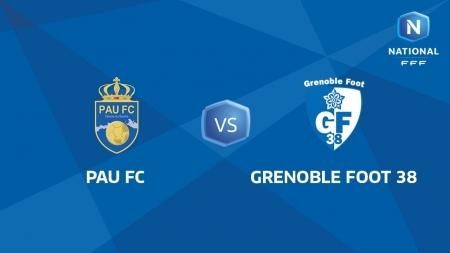 Pau FC – Grenoble Foot 38 en direct vidéo