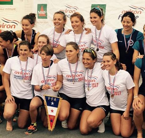 Des Grenobloises record (et championne de France) !