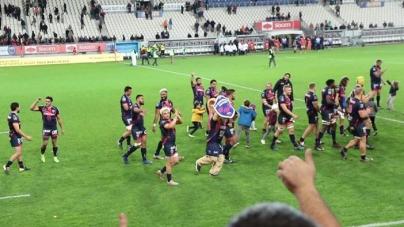 #Vidéo Le clapping des joueurs du FCG après la victoire contre Narbonne