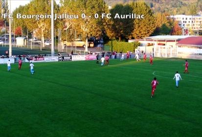Résumé vidéo de la victoire du FC Bourgoin-Jallieu contre Aurillac