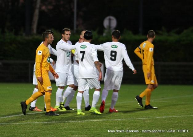 Le FC Echirolles s'offre le derby isérois