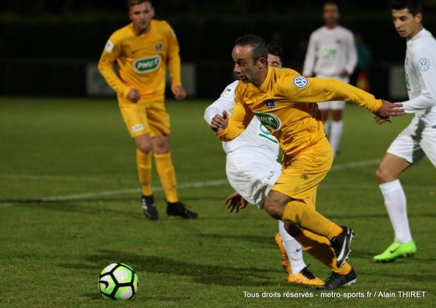 La Côte Saint-André prend sa revanche sur le FC Echirolles