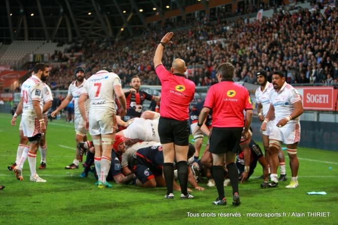 Perpignan – FCG : Maxime Chalon au sifflet