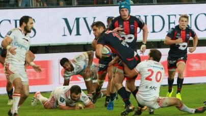Le FCG s'écroule en seconde période à Biarritz
