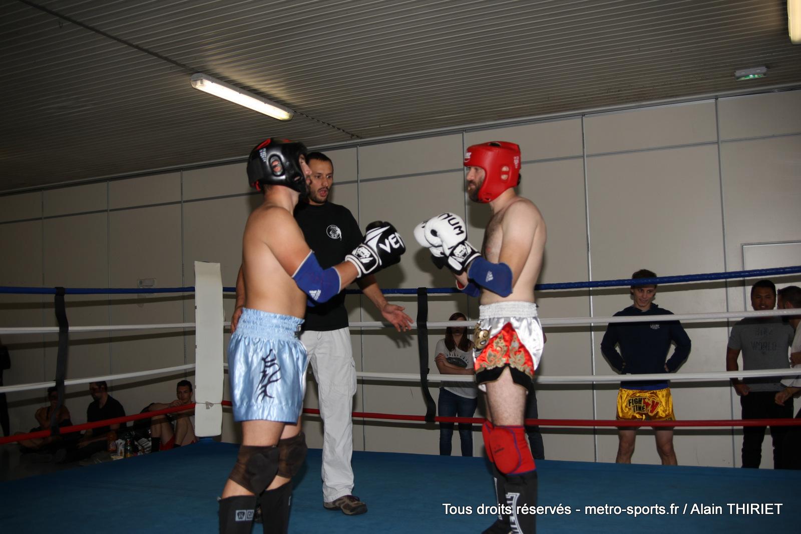 combats de kick boxing