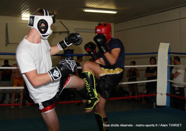 Résultats du championnat Auvergne Rhône-Alpes de kick boxing