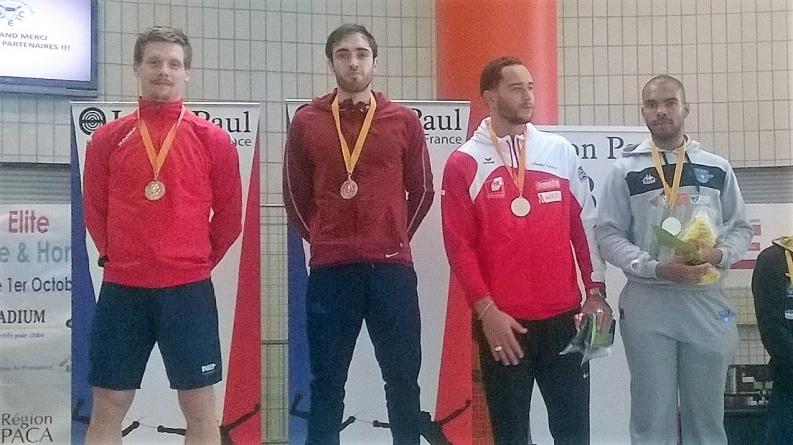 Victoire sur un circuit national élite senior pour le Meylanais Rémi Senegas