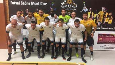 Résumé vidéo Futsal Saône Mont d'Or – Joga