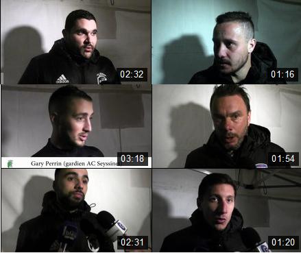 Toutes les réactions après AC Seyssinet – FBBP01