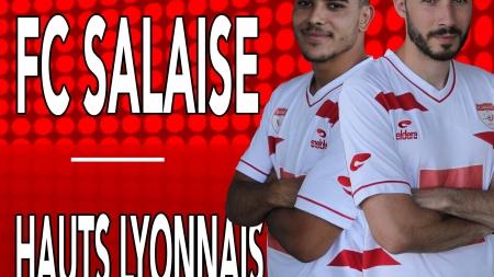 #Communiqué – Belle affiche au menu du FC Salaise