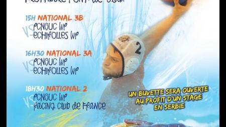 Water-Polo : grosse journée à Flottibulle pour les équipes du Pont-de-Claix GUC ce samedi