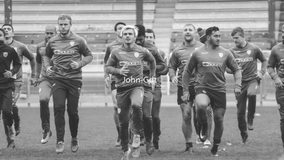 FC Grenoble : les photos de l'entraînement du 8 novembre 2017 par les Mammouths