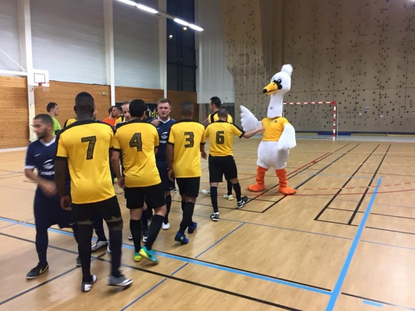 Le Futsal Saône Mont d'Or se qualifie pour le 4e tour de la Coupe Nationale