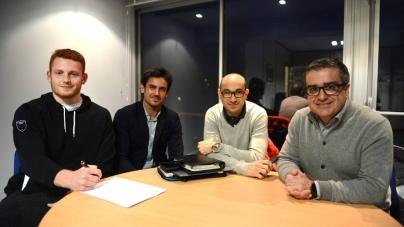 Kilian Geraci prolonge avec le FC Grenoble