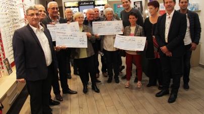 Remise des fonds récoltés lors de l'Echirolloise 201
