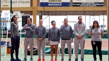 Grenoble Tennis – Clermont (D1 Féminines) en photos