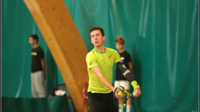 Corentin Denolly battu lors du 2e tour des qualifications de Roland-Garros