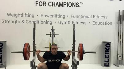 Sofiane Belkesir 6e des mondiaux de force athlétique