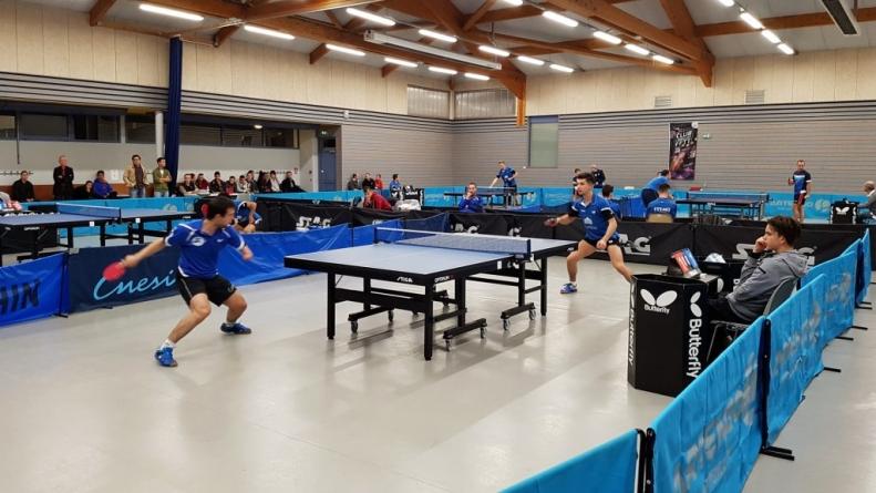 La montée se rapproche pour le Tennis de Table La Tronche Meylan Grenoble
