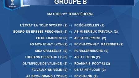 L'Etrat La Tour au menu du FC Échirolles en coupe Gambardella