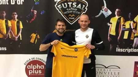 Un nouveau gardien au Futsal Saône Mont d'Or
